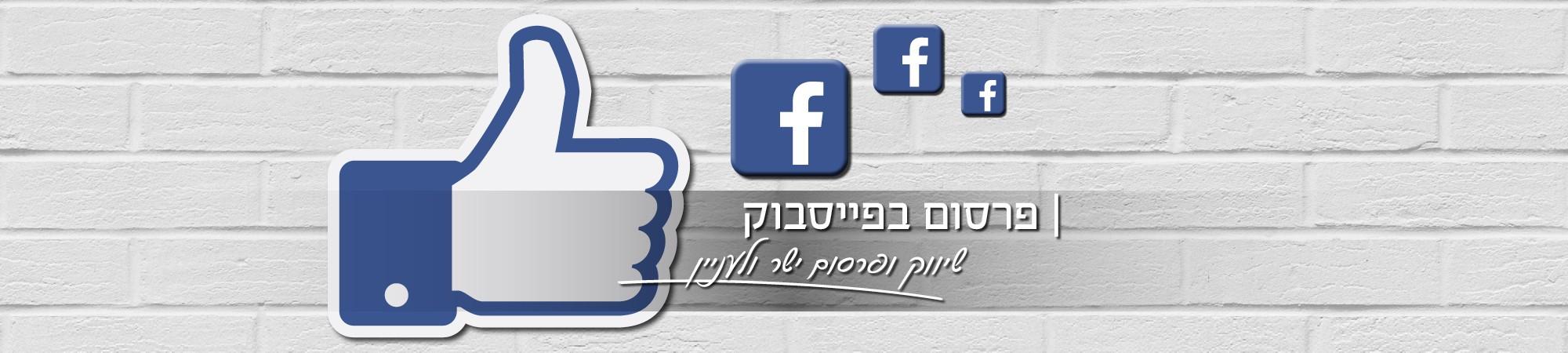 פרסום בפייסבוק - שיווק ופרסום ישר ולעניין