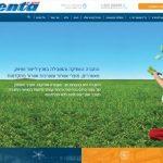 עיצוב אתר לחברת VENTA
