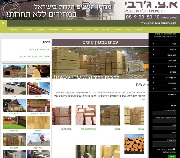 שירותי עיצוב אתרים