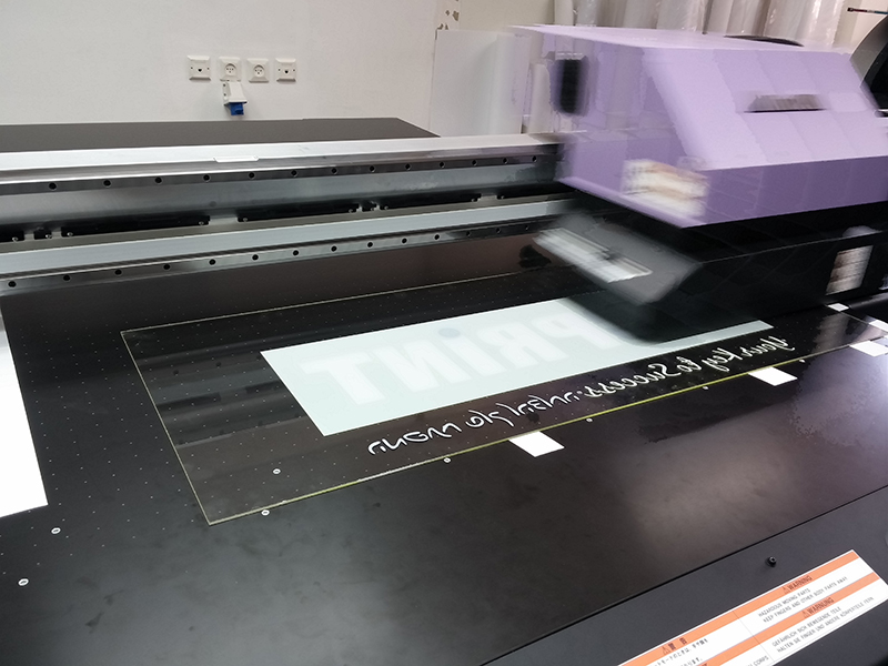 הדפסה על זכוכית