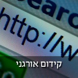 קידום אתרים באינטרנט, קידום אורגני