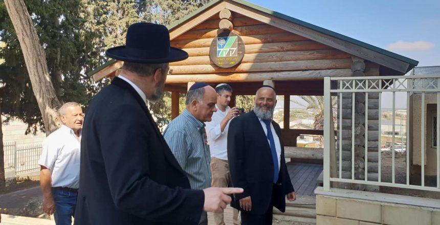 אלי אסקוזידו מארח את הרב הראשי לישראל